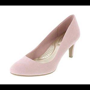 Comfort Plus pink rose small heel NWT